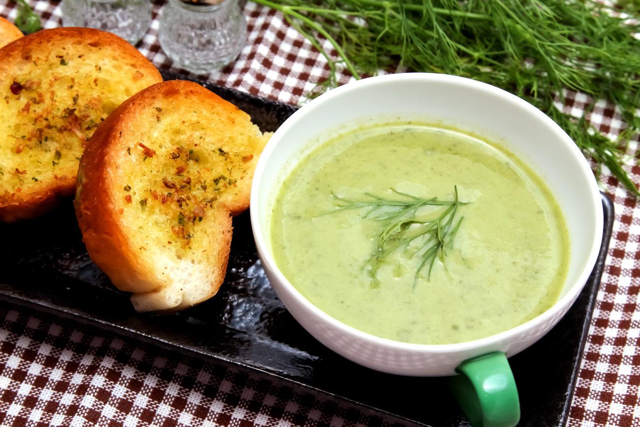 Lauch-Pastinaken-Ingwer-Suppe