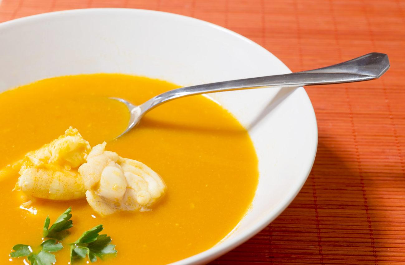Möhren – Süßkartoffel – Süppchen