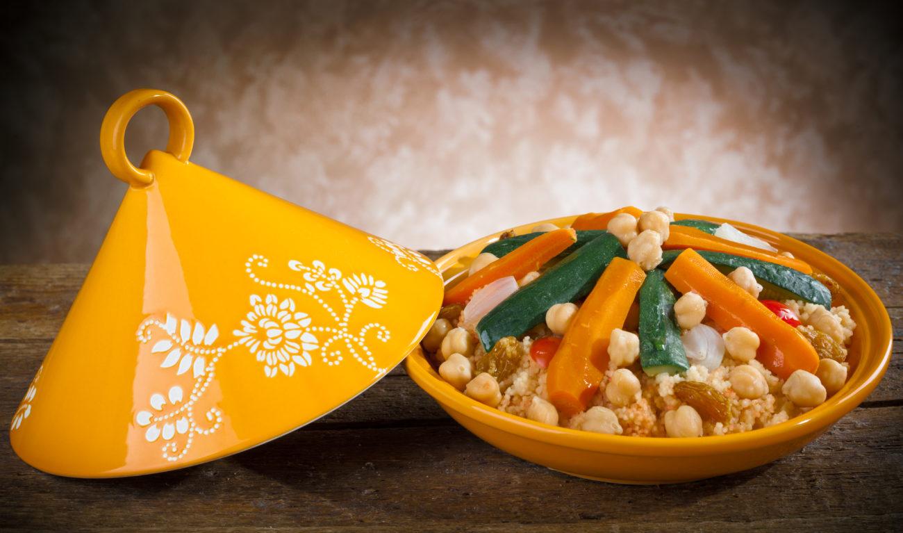 Marokkanisches Ofengemüse